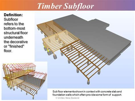 Topic 7: Timber Subfloor Systems ? Basic   ppt video