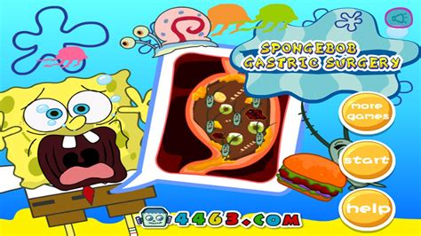 Spongebob Gastric Surgery Doctor Game