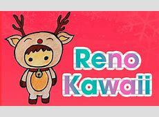 Dibuja un reno kawaii navideño DIBUJOS DE NAVIDAD Aprende