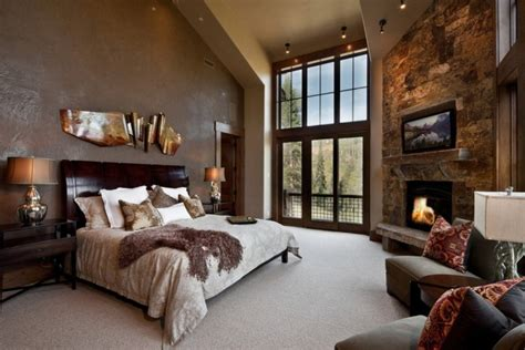 Elegant And Inspiring Master Bedroom Fireplace Ideas