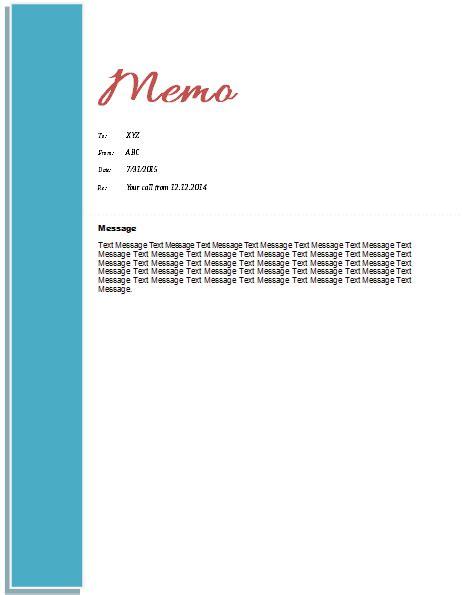 memo template templates  microsoft word
