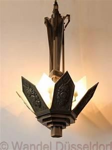 Art Deco Deckenleuchte : 01501 art deco deckenleuchte mit bronzefassung wandel antik ~ Sanjose-hotels-ca.com Haus und Dekorationen