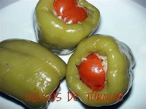 recette de cuisine turque recette de poivrons farcis à la turque