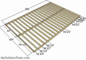 16x24 Shed Plans MyOutdoorPlans Free Woodworking Plans