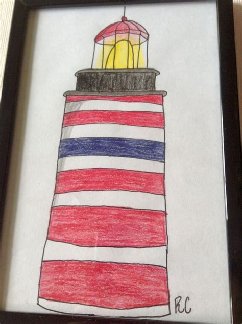 draw  lighthouse  steps  pictures wikihow