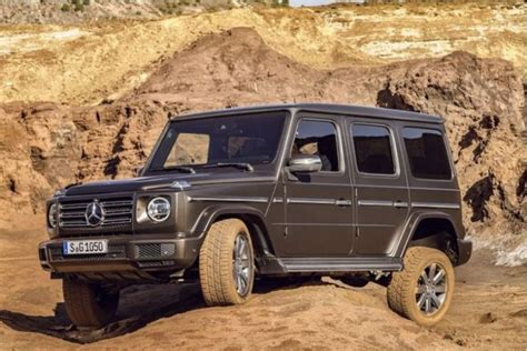 2019 mercedes benz g class for sale with photos carfax. Mercedes-Benz Unveils The All-New 2019 G550 G-Wagon (Photos)