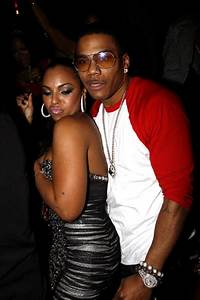 COUPLE WATCH: Ashanti and Nelly Cuddly in Vegas ...