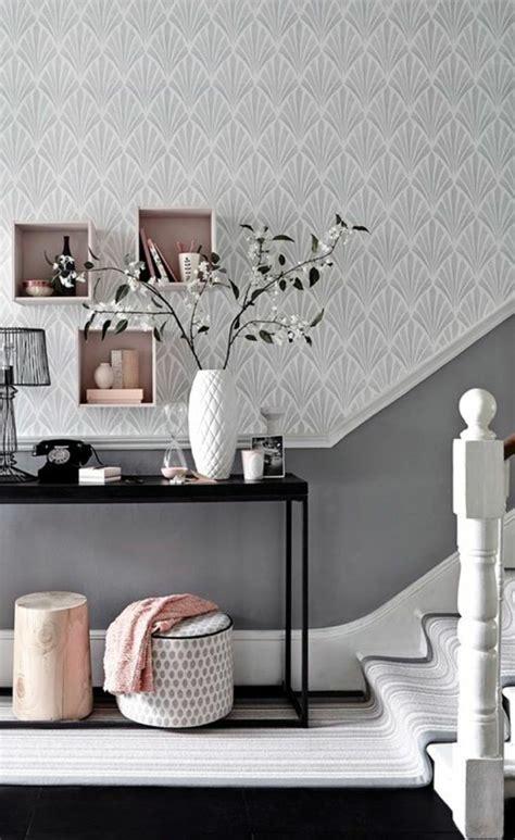 idee tapisserie chambre papier peint pour couloir comment faire le bon choix 42