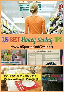 15 Best Money Saving Tips - A Spectacled Owl