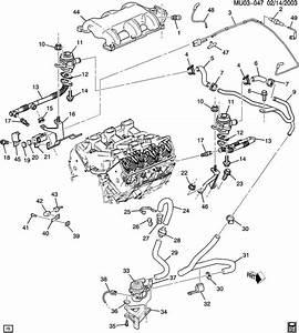 2001 Chevrolet Cavalier Z24 Exhaust Diagram