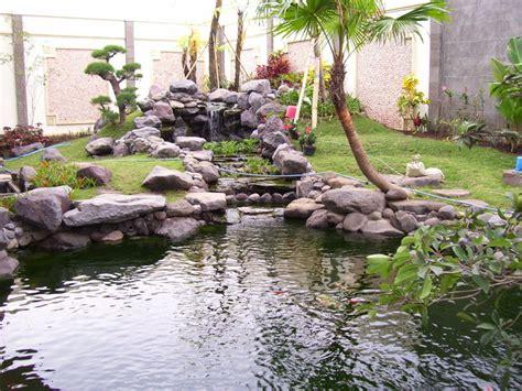 contoh kolam ikan taman desain freewaremini