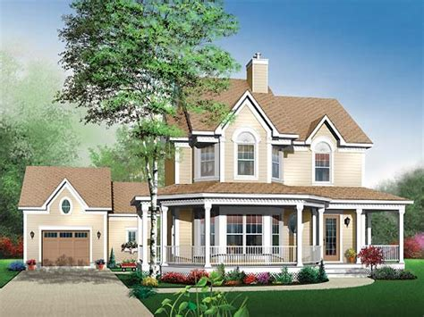 country house plans house plans with porches and bay window country house