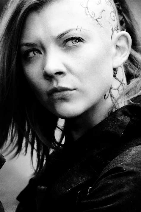 Natalie Dormer In Hunger by Natalie Dormer As Cressida In Mockingjay Part I