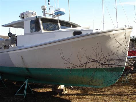 Lobster Boats For Sale by Commercial Lobster Fishing Boats