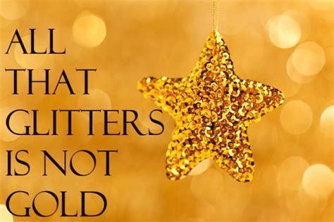 Essay On All Is Glitter Is Not Gold For Students - Read Here - Essay Avenue