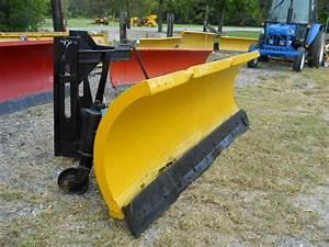10 Ft  Gledhill Snow Plow Snowplow Manual Turn  420