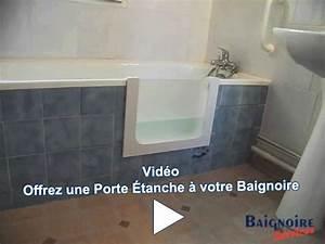 Porte Pour Baignoire : baignoire sabot avec porte pour handicap ~ Premium-room.com Idées de Décoration