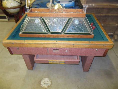 vintage bumper pool table vintage bumper pool table tools antiques collectibles