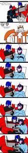 Optimus x Arcee: Birth to their child by celtakerthebest ...