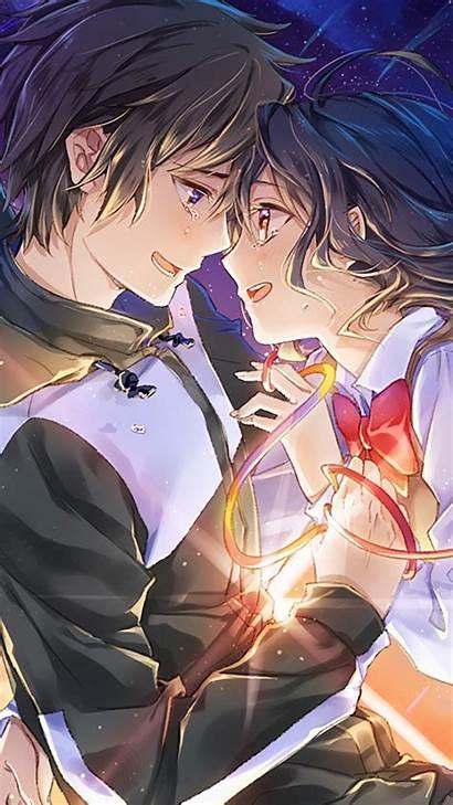 Mobile Anime Kimi Wa Na Mitsuha Couple