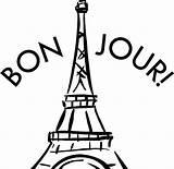 Tower Eiffel Coloring Paris France Printable Drawing Colouring Getcolorings Outline Getdrawings sketch template