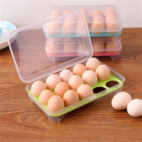 kitchen egg storage 1 pc 15 blank kitchen refrigerator eggs storage box 1595