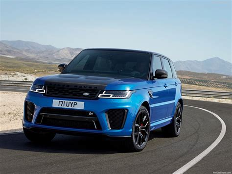 Land Rover Range Rover Sport Picture by Land Rover Range Rover Sport Svr 2018 Picture 2 Of 22
