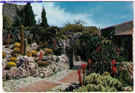 eze village le jardin exotique exotic garden carte