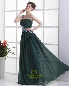 forest green bridesmaid dresses forest green dresses for bridesmaids emerald green one shoulder prom dress val dresses