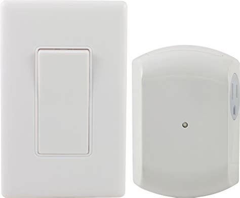ge 18279 wireless wall switch remote with 1 outlet receiver rf by jasco products company llc