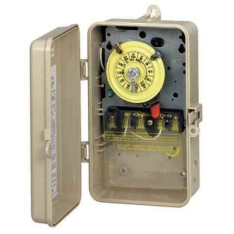 Intermatic Pool Spa Mechanical Switch Beige