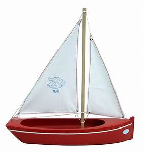 Spirited Mama Toy sailing boat red 108