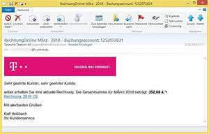 Telekom Deutschland Rechnung : rechnungonline m rz 2018 buchungsaccount 1252072831 von ~ Themetempest.com Abrechnung