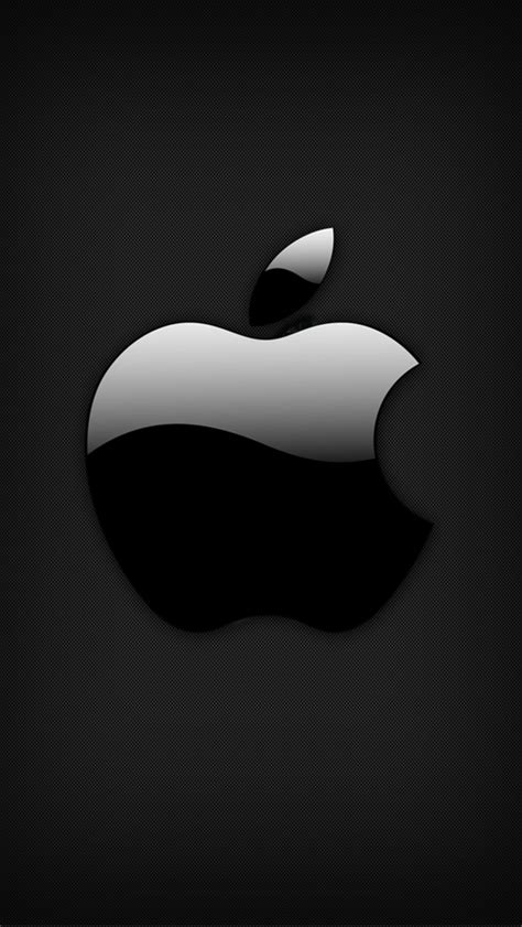Apple Logo Iphone Black Wallpaper Hd by Apple Black The Iphone Wallpapers