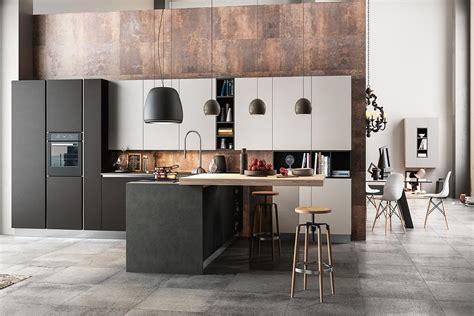 cucine con penisola moderne cucine a parete con penisola moderne