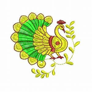 Indian, Traditional, Peacock, Designs