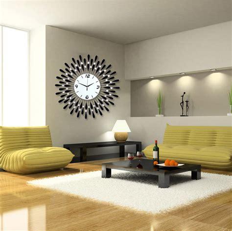 personalized large modern wall clock fashion mute