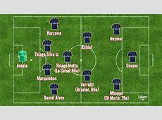 Match Composition sans surprise pour le PSG face au