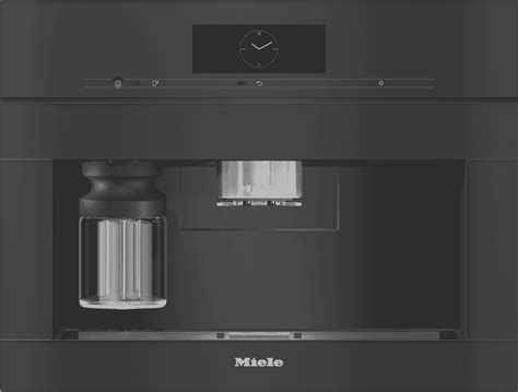 Such as whole bean system, canonical grinding system, grinder bypa ss, 500g coffee container. Miele CVA 7845 VL OB Built In Coffee Machine Obsidian ...