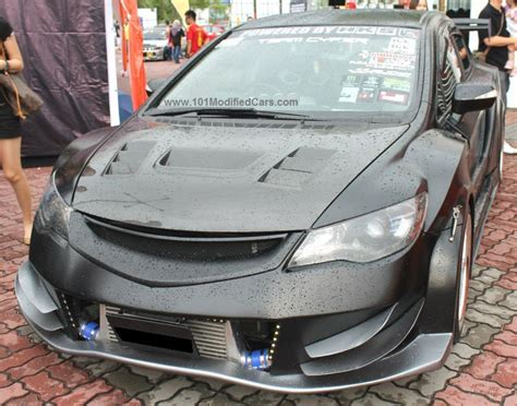 Modified Civic Parts by Custom Modified Honda Civic Sedan 8th Generation With