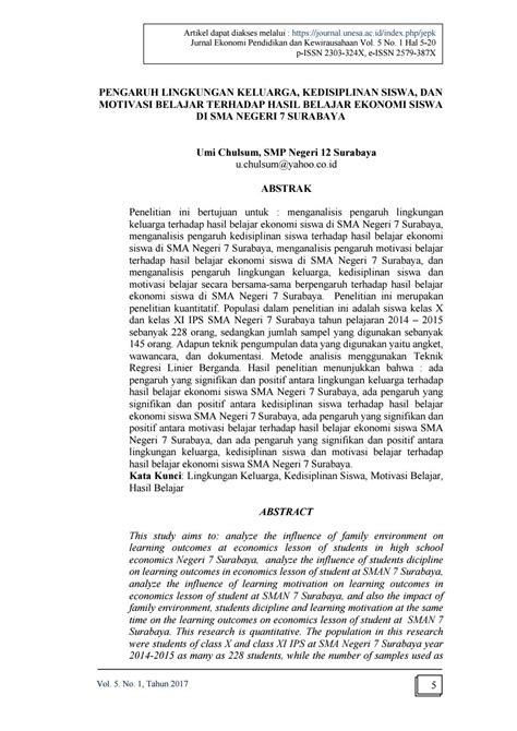 Vol 5 no 1 artikel 1 by JURNAL EKONOMI PENDIDIKAN DAN