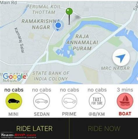 Cost Of Fishing Boat In Chennai by Ola Offers Boat Service In Chennai After Flash Floods