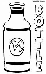 Bottle Coloring Pages Colorings sketch template