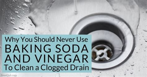 clogged kitchen sink baking soda how to naturally clean a clogged drain the definitive 8231