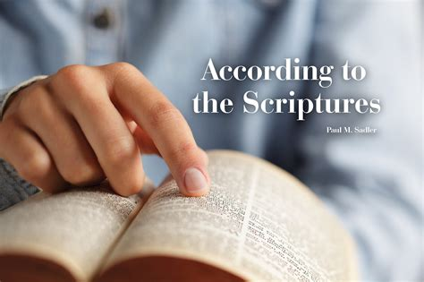 Booklet: According to the Scriptures (Package of 10 ...