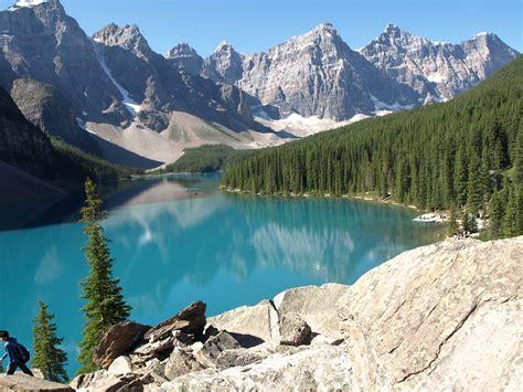 photo landscape lake canada  image