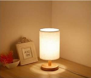 đèn ngủ để bàn gỗ tự nhiên độc đáo kenhota