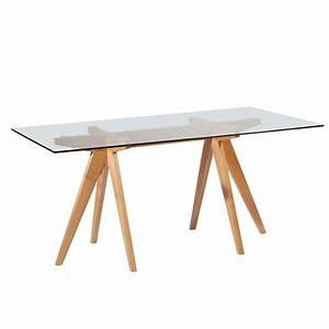 Table Jean Prouvé : replica jean prouv rectangular dining table ~ Melissatoandfro.com Idées de Décoration