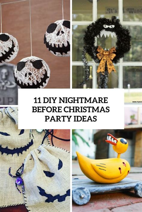Nightmare Before Decorations by Diy Nightmare Before Ideas Cover