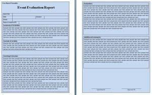 assessment report template writing word excel format